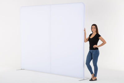 10' Straight Tension Fabric Display