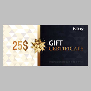 Blissy Gift Card