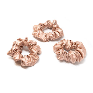 Blissy Scrunchies - Rose Gold