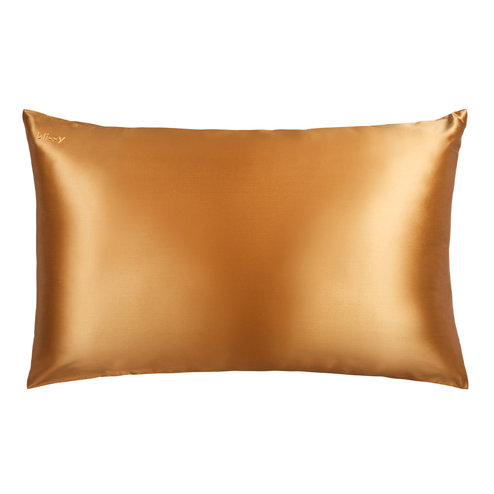 Blissy 100 Mulberry 22 Momme Silk Pillowcase Gold King