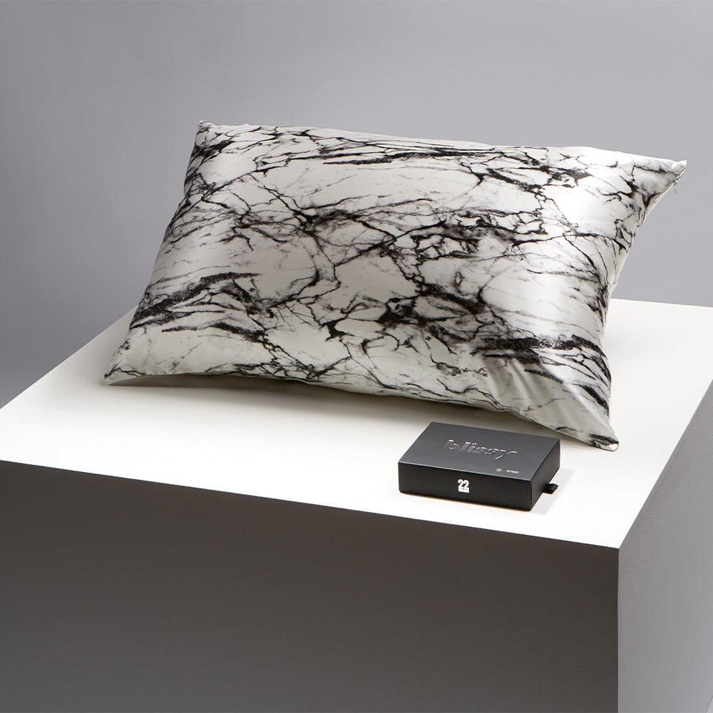 Pillowcase - Light Marble - King