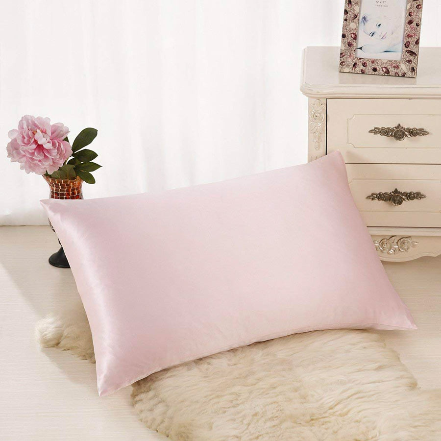 Blissy 100 Mulberry 22 Momme Silk Pillowcase Pink King