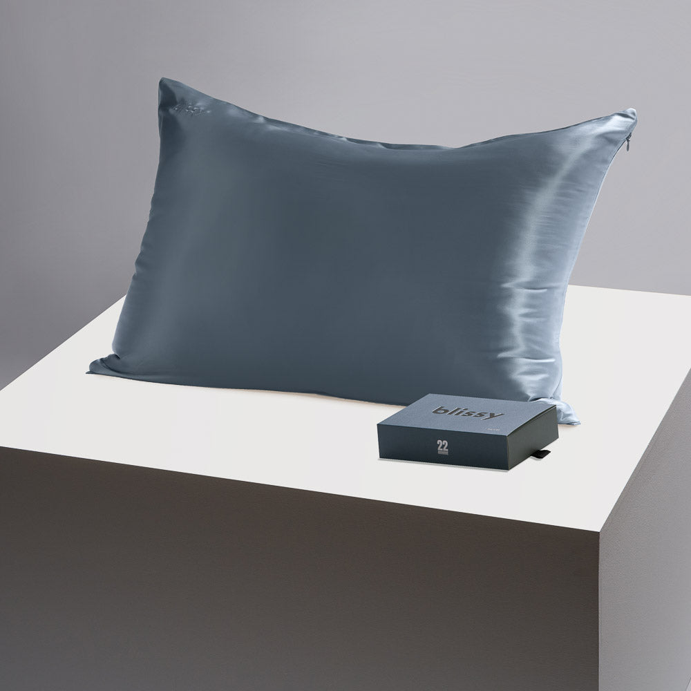 Pillowcase - Ash Blue - Queen