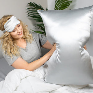 Pillowcase - Silver - King