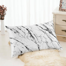 Load image into Gallery viewer, Pillowcase - Light Marble - Queen
