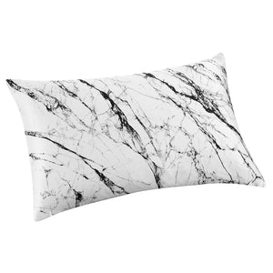 Pillowcase - Light Marble - Queen