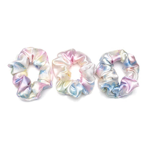 Blissy Scrunchies - Yellow Tie-Dye