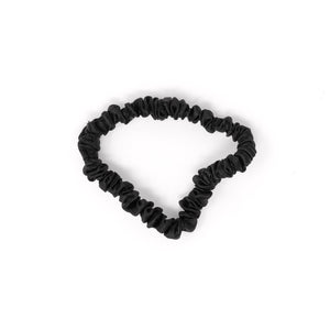 Blissy Skinny Scrunchies - Black, Gold, Pink
