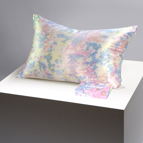 Pillowcase - Yellow Tie-Dye - Standard