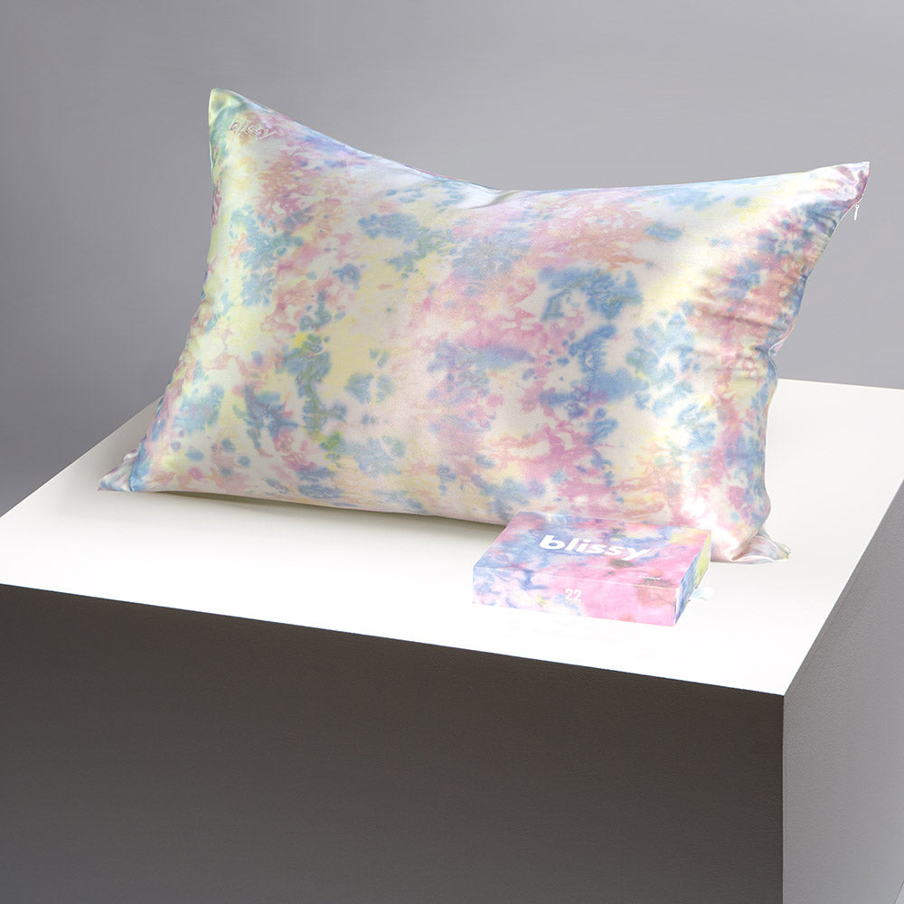 Pillowcase - Yellow Tie-Dye - Queen