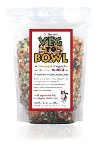 Veg-to-Bowl for Cats