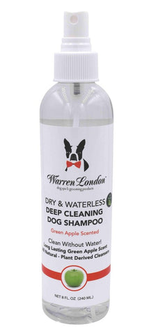 Dry & Waterless Deep Cleaning Shampoo - Green Apple Scent
