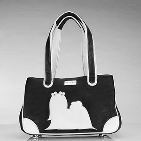 Majestic Maltese Rescue Me Tote Black