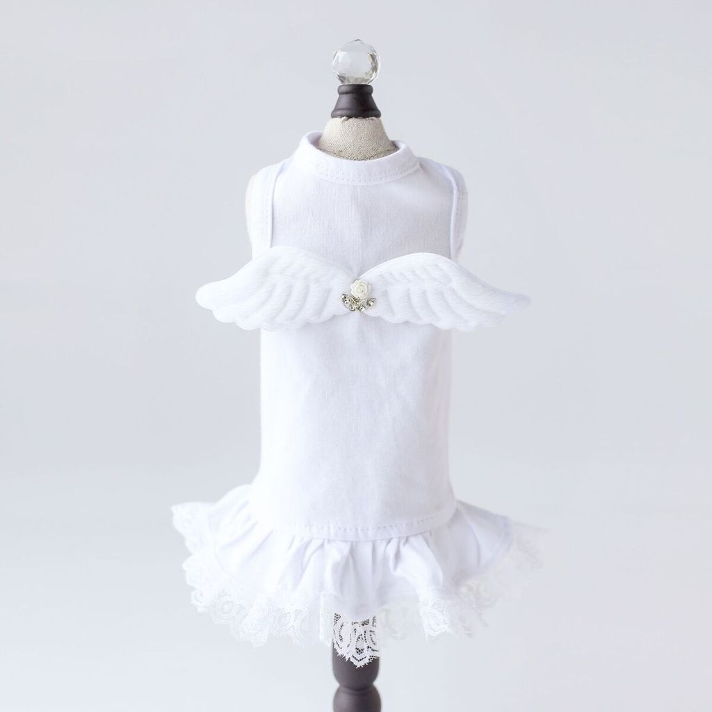 Lil' Angel Dress - Luxurious Paws
