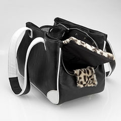 Snotty Scottie Rescue Me Tote Black - Luxurious Paws