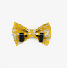 Capel Mustard Bow Tie - Luxurious Paws