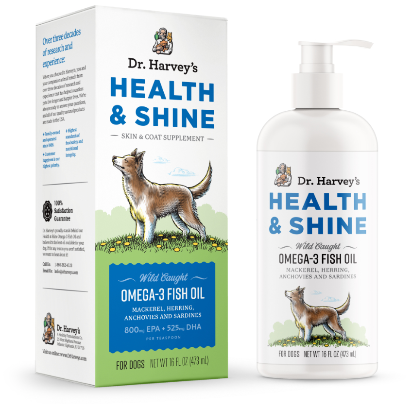 Health and Shine - Omega-3 - Luxurious Paws