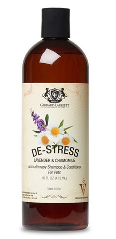 De-Stress with All-Natural Pet Shampoo and Conditioner