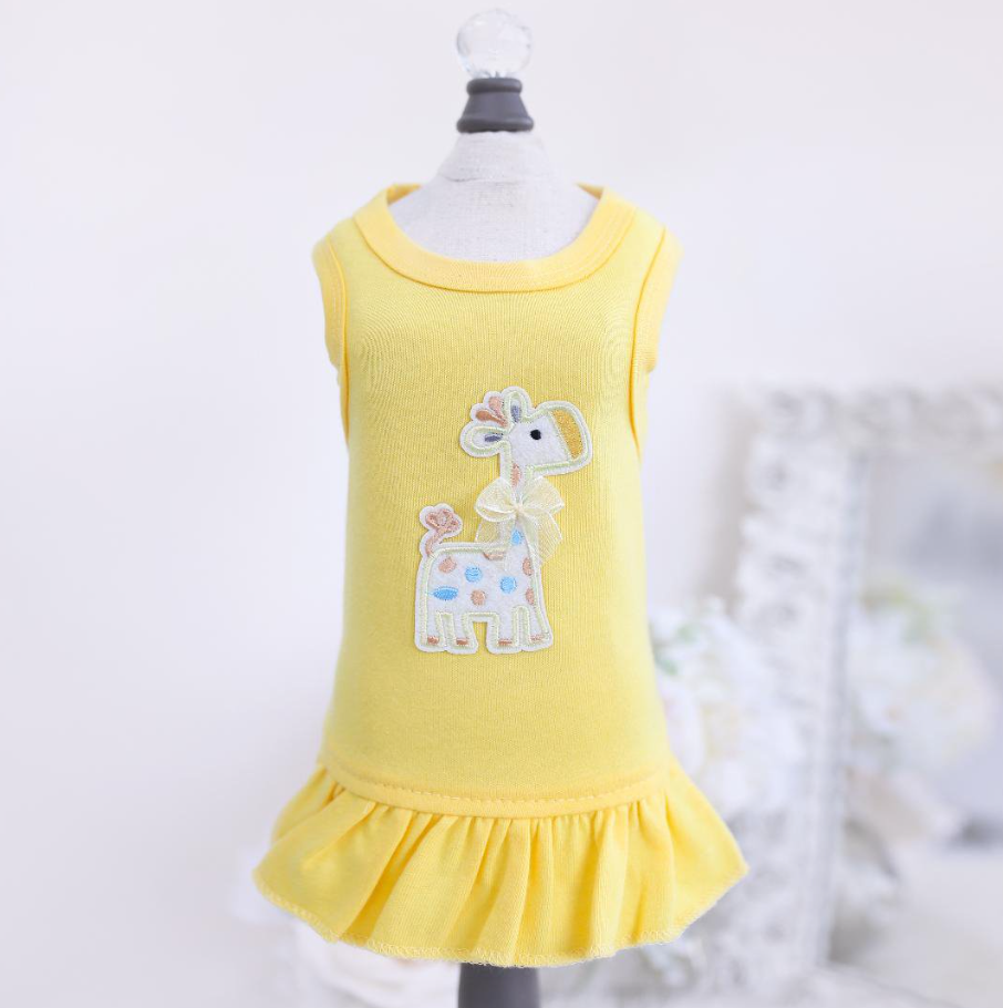 Baby Safari Dress - Luxurious Paws