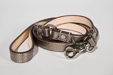 Antique Brass Dog Leash - Luxurious Paws