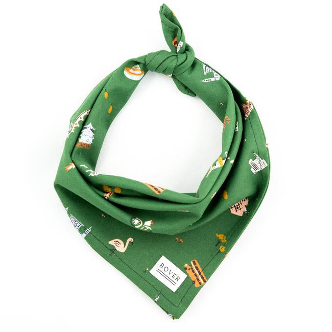 Explorer Bandana - Luxurious Paws