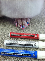 Pawdicure Polish Pens (Dog Nail Polish) - Luxurious Paws
