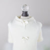 Dainty Bow Tee - Luxurious Paws