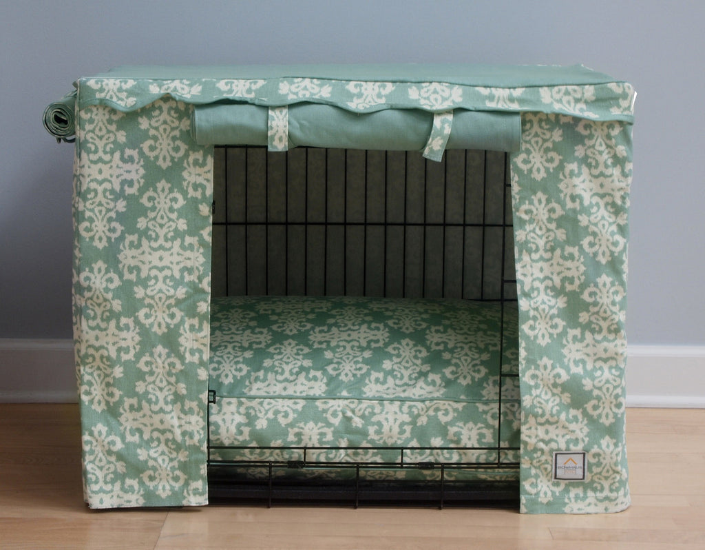 Elegancia Crate Cover - Luxurious Paws