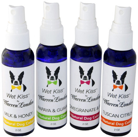 Wet Kiss Dog Cologne - Luxurious Paws