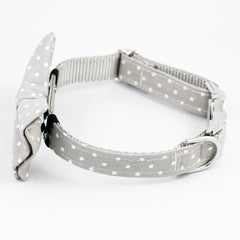 Grey Lake Collar - Luxurious Paws
