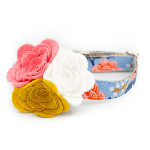 Birch Floral Flower Collar