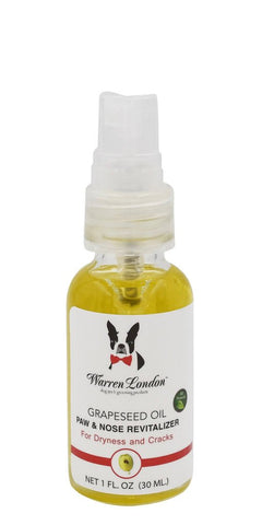 Grapeseed Oil Paw & Nose Revitalizer - Dog Nose & Paw Moisturizer