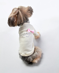 Baby Bow Tee - Luxurious Paws