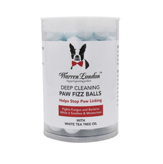 Deep Cleaning Paw Fizz Tablets - Eliminate Paw Licking! - Luxurious Paws