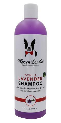Calming Lavender Shampoo - Natural Dog Shampoo