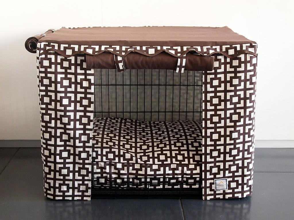 Crate Cover Lattice - Luxurious Paws