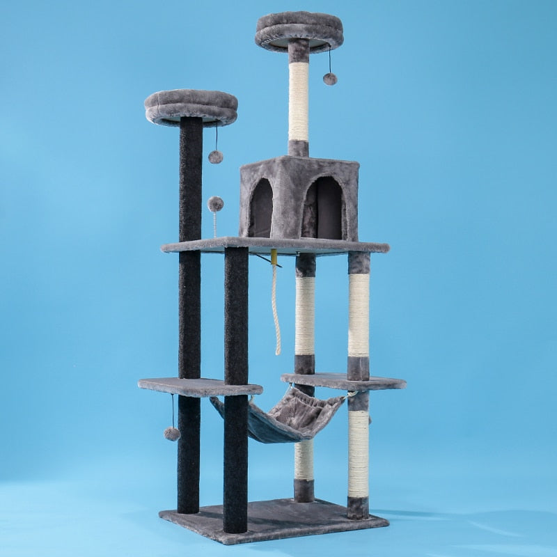 Cat's Tower Play Tree - Luxurious Paws