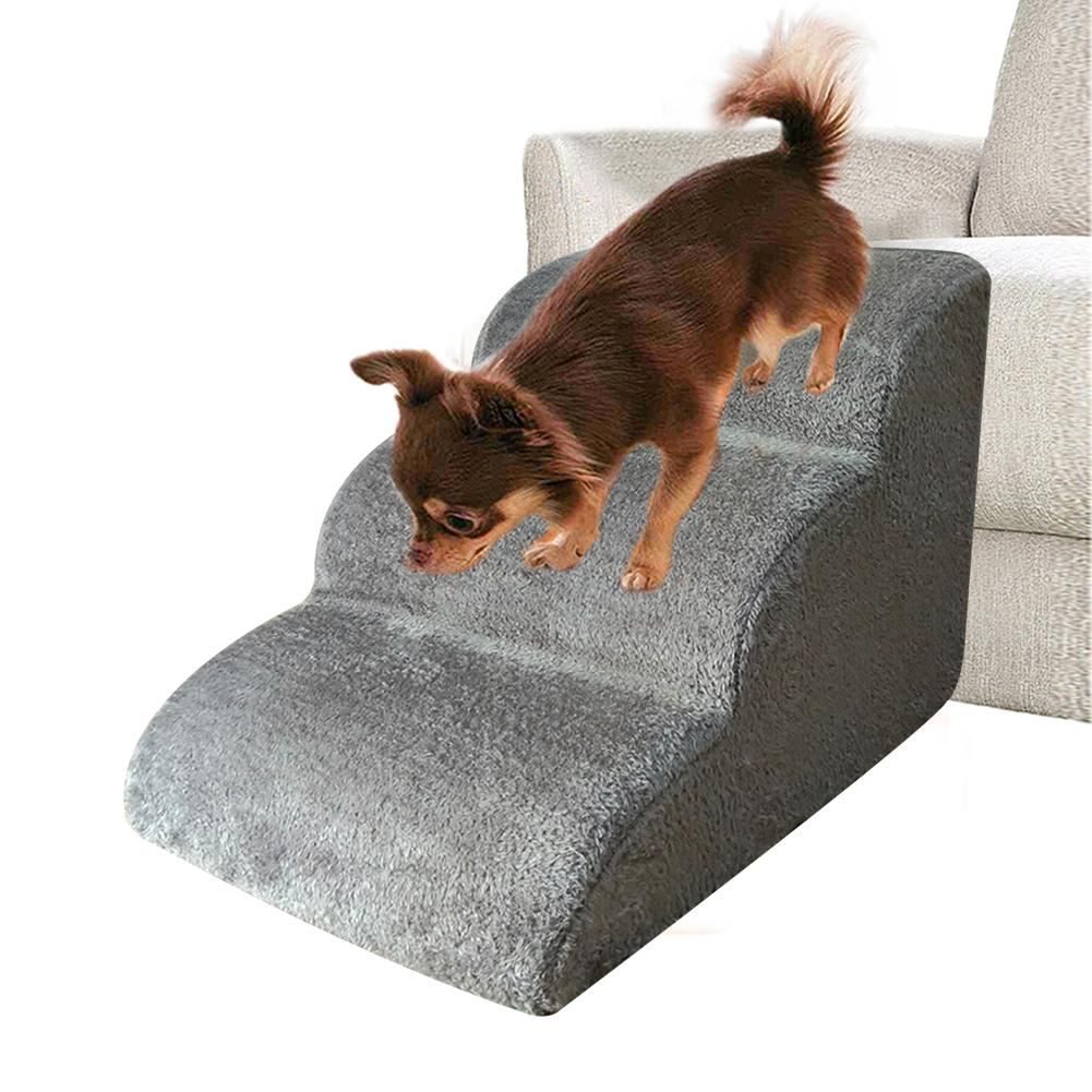 3 Steps Ramp Stairs for Small Dog - Luxurious Paws