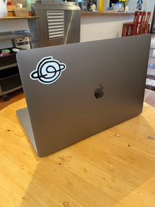Planet Logo Sticker