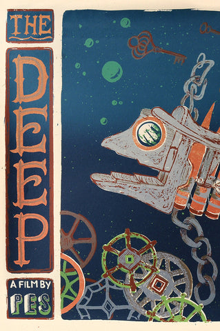 """The Deep"" Screen Print"