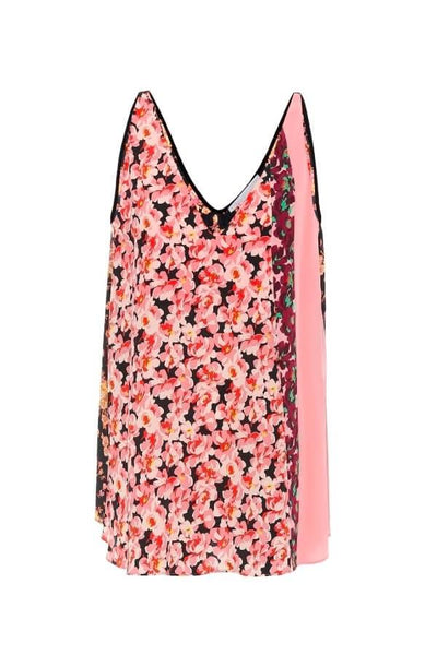 Stella McCartney Floral Print V-Neck Tank Top - Multi (4169217605767)
