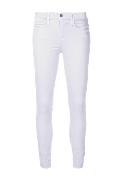 Frame Denim Le High Skinny Raw Edge - Lavender