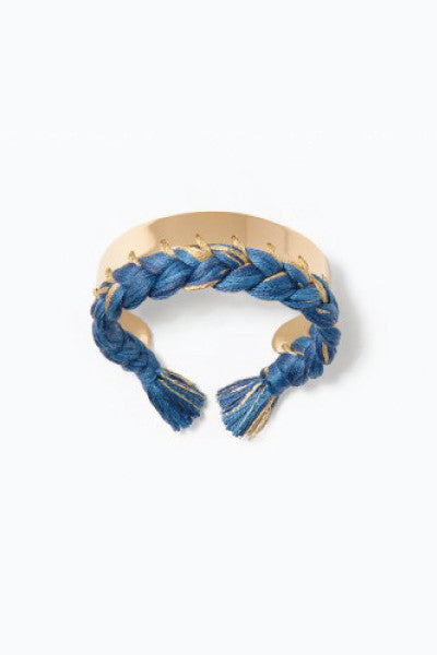 Aurelie Bidermann Gold Dipped Copacabana Bracelet