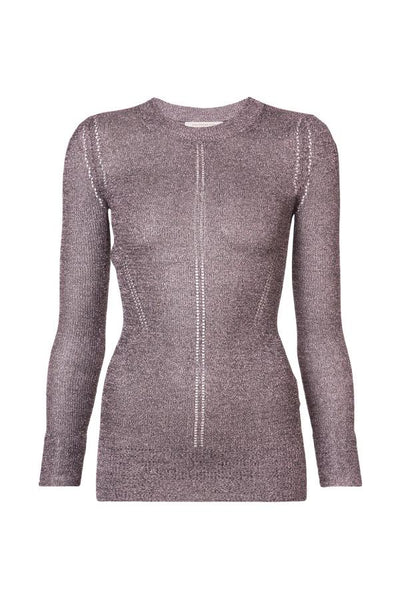 Christopher Kane DNA Metallic Jumper - Pink
