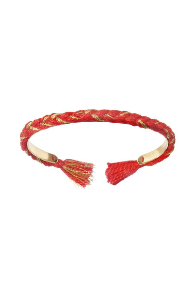 Aurelie Bidermann Copacabana Bangle - Vermillion