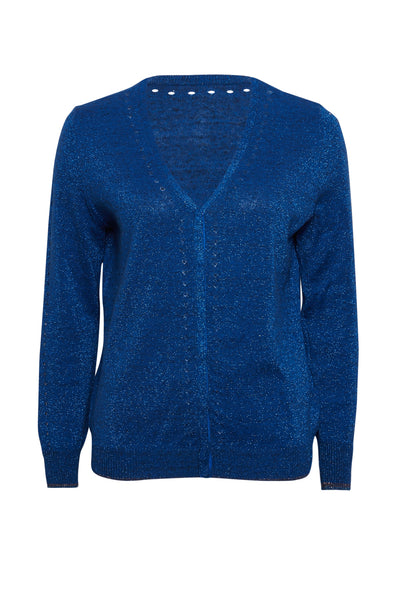 Grace Reversible Lurex Cardigan