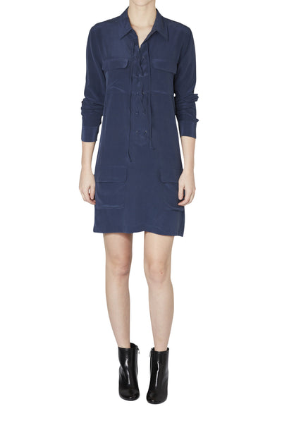 Equipment Peacoat Knox Dress