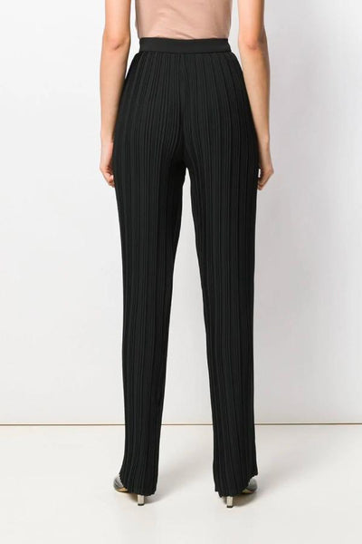 Victoria Victoria Beckham Pleated Trouser - Black