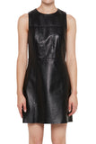 Yves Salomon A-Line Leather Dress
