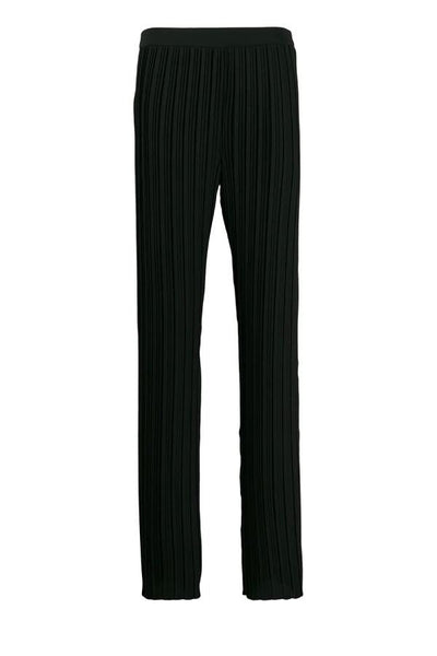Victoria Victoria Beckham Pleated Trouser - Black - SIZE 10 (3717758287925)